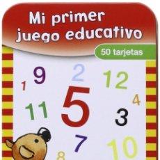Juegos educativos: NÚMEROS Y CÁLCULOS (MI PRIMER JUEGO EDUCATIVO) CARTAS – 1 SEP 2015 DE VV.AA. (AUTOR). Lote 198809060
