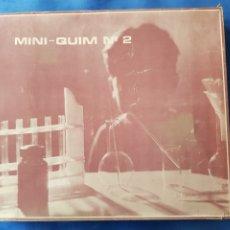 Juegos educativos: MINI-QUIM N°2 , CAJA SIN ABRIR , AÑOS 1970. Lote 199376242