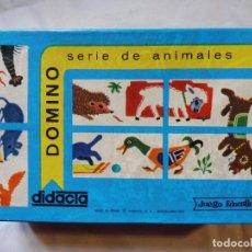 Juegos educativos: DIDACTA DOMINO SERIE DE ANIMALES REF. 1100. Lote 199505780