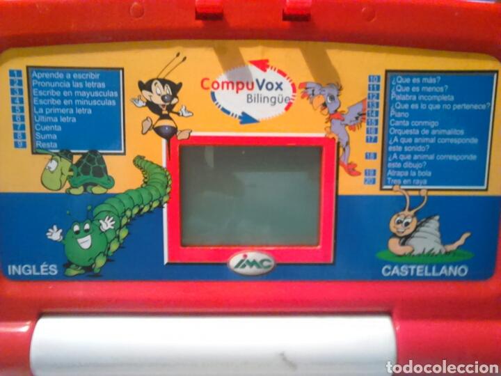 Juegos educativos: Original ordenador bilingue,compuvox,imc - Foto 2 - 201132167