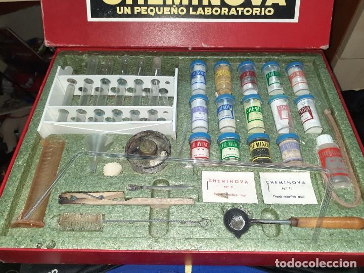 Juegos educativos: Cheminova caja nº4.Juego de química años 50 - 60. - Foto 2 - 202709557
