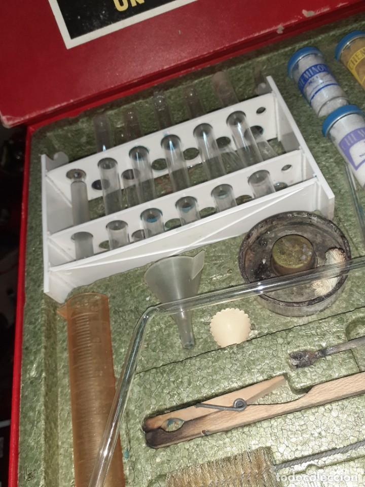 Juegos educativos: Cheminova caja nº4.Juego de química años 50 - 60. - Foto 3 - 202709557