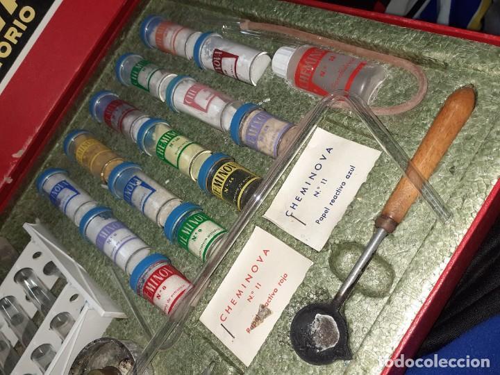 Juegos educativos: Cheminova caja nº4.Juego de química años 50 - 60. - Foto 4 - 202709557