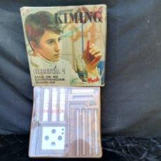 Juegos educativos: VIEJO JUEGO DE QUÍMICA KIMING DE 1973. Lote 202732947