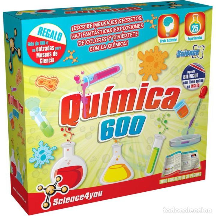 QUÍMICA 600 - SCIENCE4YOU (Juguetes - Juegos - Educativos)