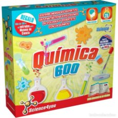 Juegos educativos: QUÍMICA 600 - SCIENCE4YOU. Lote 201940027