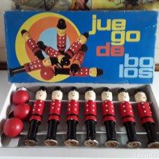 Juegos educativos: PRECIOSO JUEGO DE BOLOS EN MADERA DE LA TONTERÍA CONSTANSO (TORRELLO-BARCELONA). Lote 203776275