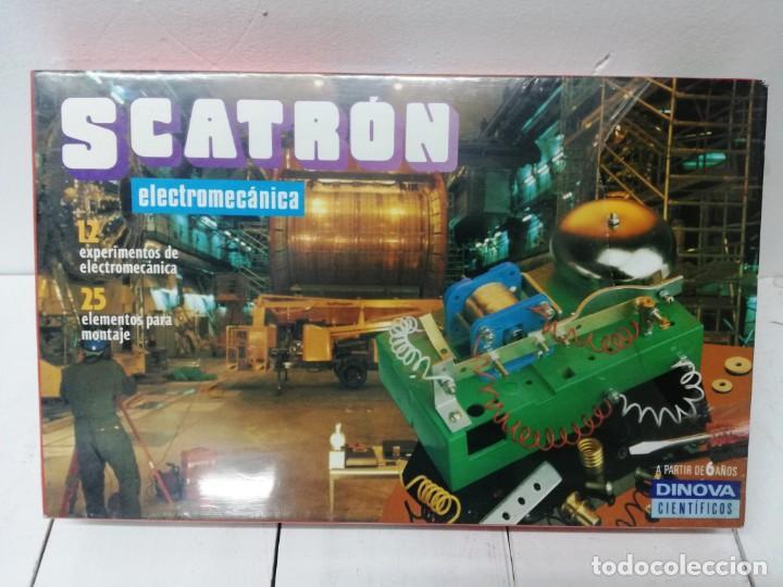 SCATRON DINOVA 12 EXPERIMENTOS DE ELECTROMECANICA .PRECINTADO SIN ABRIR VER FOTOS (Juguetes - Juegos - Educativos)