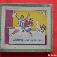 Juegos educativos: IMPRENTILLA INFANTIL SERIE D AÑOS 30/40 BIEN CONSERVADA. Lote 204262291