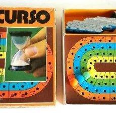 Juegos educativos: ANTIGUO RARO JUEGO CONCURSO Nº 62117 CON 34 PIEZAS DE CARTÓN PARA PREGUNTAS. Lote 205123482