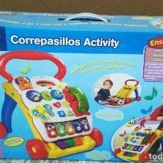 Juegos educativos: CORREPASILLOS ACTIVITY VTECH NUEVO EN SU CAJA. Lote 206132646