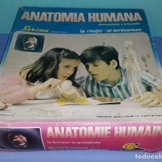 Juegos educativos: ANTIGUA CAJA GRANDE LA MUJER EL EMBARAZO ANATOMIA HUMANA DE SERIMA COMPLETO ORIGINAL. Lote 206145412