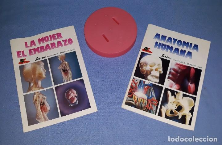 Juegos educativos: ANTIGUA CAJA GRANDE LA MUJER EL EMBARAZO ANATOMIA HUMANA DE SERIMA COMPLETO ORIGINAL - Foto 2 - 206145412