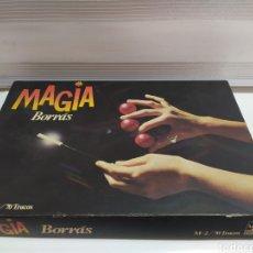 Juegos educativos: JUEGO DE MAGIA BORRAS PARA PIEZAS JUEGO INCOMPLETO CON MANUAL. Lote 206584663