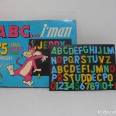 Juegos educativos: JUEGO EDUCATIVO, PIZARRA MAGNETICA, ABC I´MAN, JUGUETES INSTRUCTIVOS, AÑOS 70. Lote 206810018