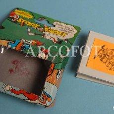 Juegos educativos: ANTIGUO SELLO PREENTINTADO WALT DISNEY - SPORT GOOFY - RUGBY - TAMPÓN - EL DE LAS FOTOS. Lote 207019303