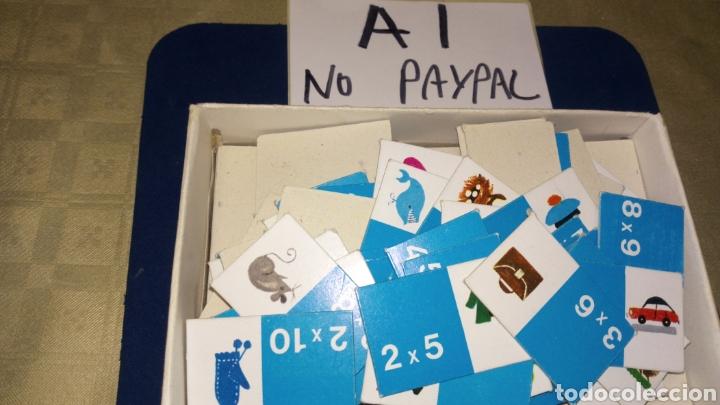 Juegos educativos: Loto tablas de multiplicar juego educativo didacta completo made spain ver fotos estado caja pintada - Foto 3 - 207038608