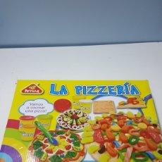 Juegos educativos: LA PIZZERIA PEIPELLE JUEGO DE PLASTILINA MASTER (SIN PLASTILINA). Lote 207133531
