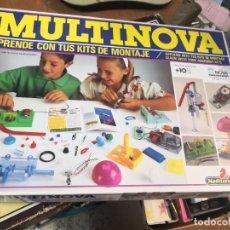Juegos educativos: JUEGO JUEGO APRENDE KITS MONTAJE MULTINOVA Y FISINOVA DE LA CASA MEDITERRANEO AÑOS 90. Lote 207419148