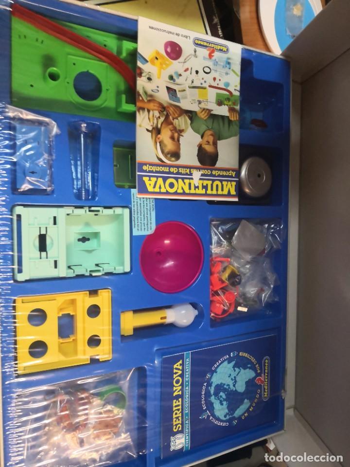 Juegos educativos: Juego juego aprende kits montaje MULTINOVA y fisinova de la casa MEDITERRANEO años 90 - Foto 2 - 207419148