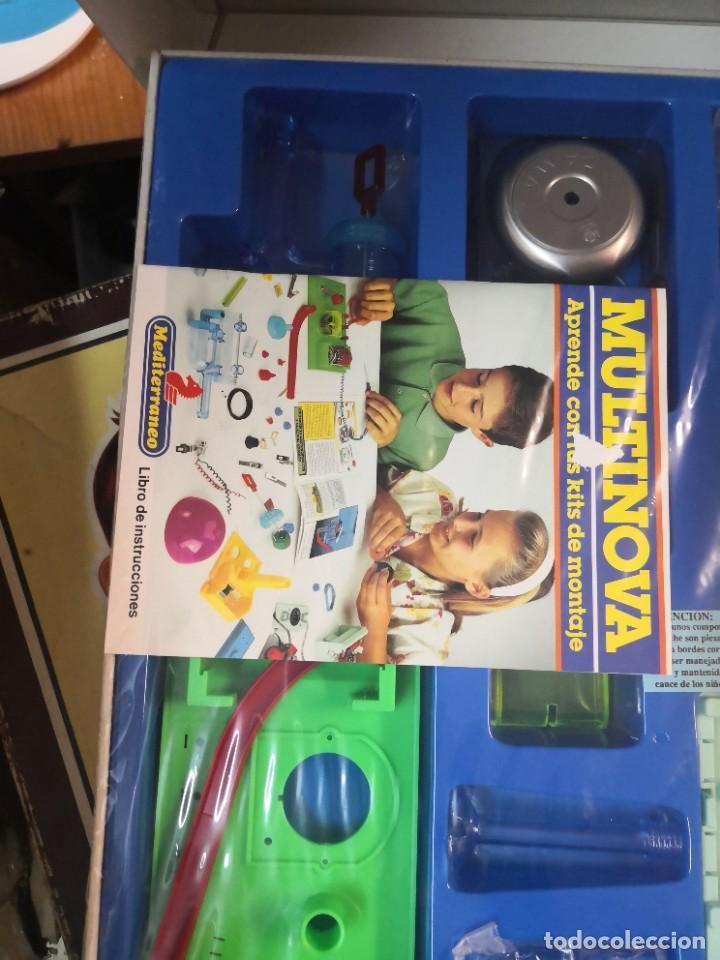 Juegos educativos: Juego juego aprende kits montaje MULTINOVA y fisinova de la casa MEDITERRANEO años 90 - Foto 3 - 207419148