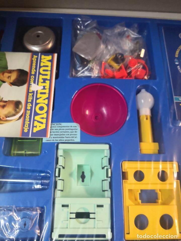 Juegos educativos: Juego juego aprende kits montaje MULTINOVA y fisinova de la casa MEDITERRANEO años 90 - Foto 4 - 207419148