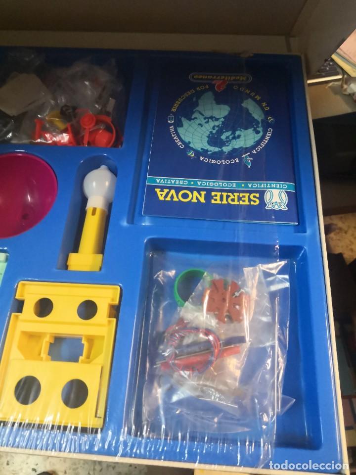 Juegos educativos: Juego juego aprende kits montaje MULTINOVA y fisinova de la casa MEDITERRANEO años 90 - Foto 5 - 207419148