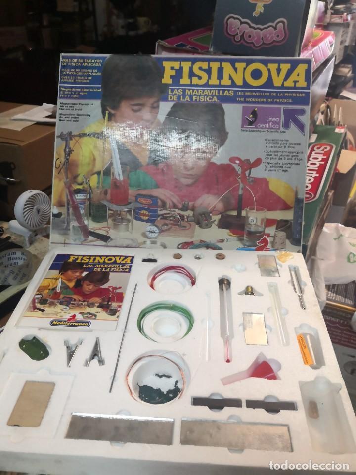 Juegos educativos: Juego juego aprende kits montaje MULTINOVA y fisinova de la casa MEDITERRANEO años 90 - Foto 6 - 207419148