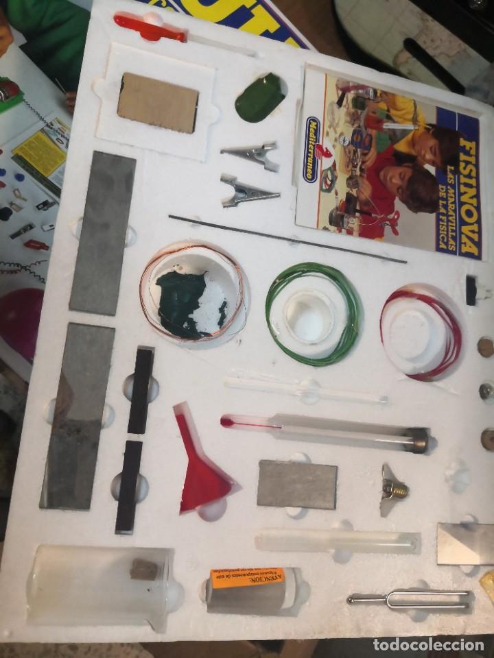 Juegos educativos: Juego juego aprende kits montaje MULTINOVA y fisinova de la casa MEDITERRANEO años 90 - Foto 7 - 207419148