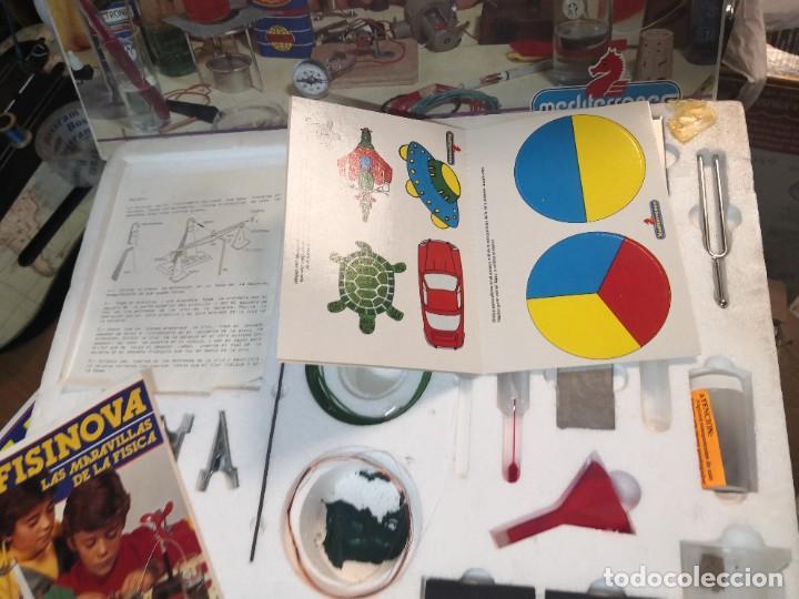 Juegos educativos: Juego juego aprende kits montaje MULTINOVA y fisinova de la casa MEDITERRANEO años 90 - Foto 8 - 207419148