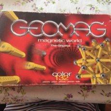 Giochi educativi: GEOMAG, THE ORIGINAL MAGNETIC WORLD, 132 PIEZAS, COLOR. Lote 207610975