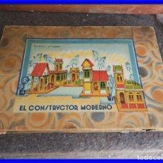 Juegos educativos: JUEGO EL CONSTRUCTOR MODERNO ESTA COMPLETO MUY INTERESANTE. Lote 208185182