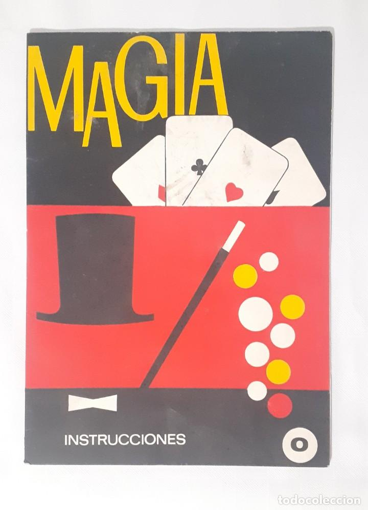 LIBRO MAGIA BORRAS INSTRUCCIONES. (Juguetes - Juegos - Educativos)
