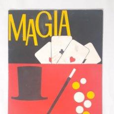 Juegos educativos: LIBRO MAGIA BORRAS INSTRUCCIONES.. Lote 209266500