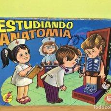 Juegos educativos: JUEGO ELECTRÓNICO AÑOS 70. ESTUDIANDO ANATOMÍA.. Lote 209775147