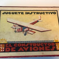 Juegos educativos: JUEGO INSTRUCTIVO DE CONSTRUCCION AVIONES DE MADERA. Lote 210554120