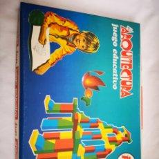 Juegos educativos: ARQUITECTURA JUP JUEGO EDUCATIVO AÑOS 70 SIN USAR. Lote 210565940