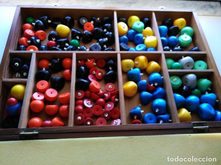 CAJA EQUIPO DE MODELOS DIDÁCTICOS GEOMETRÍA MOLECULAR (Juguetes - Juegos - Educativos)