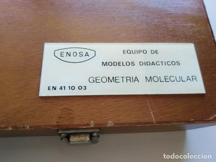Juegos educativos: Caja Equipo de modelos didácticos geometría molecular - Foto 4 - 210624327