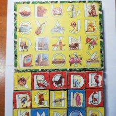 Juegos educativos: PUZLE DE CUBOS INSTRUCTIVO. Lote 211272271