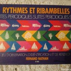 Juegos educativos: JUEGO RYTHMES ET RIBAMBELLES. Lote 211388442