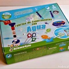 Juegos educativos: FABRICA DE EXPERIMENTOS CON AGUA. Lote 211497662
