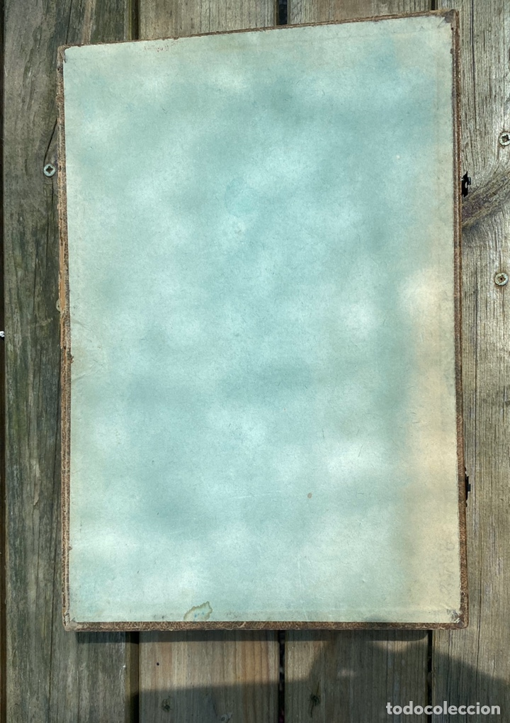 Juegos educativos: Antiguo juego de pinturas burgeois Aine .Circa 1940 - Foto 5 - 212267041