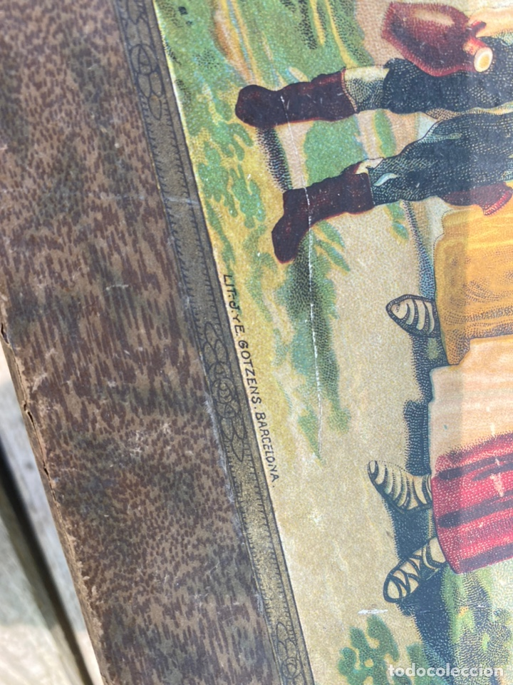 Juegos educativos: Antiguo juego de pinturas burgeois Aine .Circa 1940 - Foto 7 - 212267041