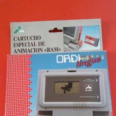 Jeux éducatifs: CARTUCHO ESPECIAL DE ANIMACIÓN -RAM- PARA ORDENADOR ORDI LINGUA.IMCADISA 90S.SIN ABRIR.. Lote 213138878