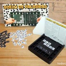 Juegos educativos: DUELO DE PALABRAS - JUMBO Y DISET - ANTIGUO JUEGO DE MESA - AÑOS 80. Lote 213534355