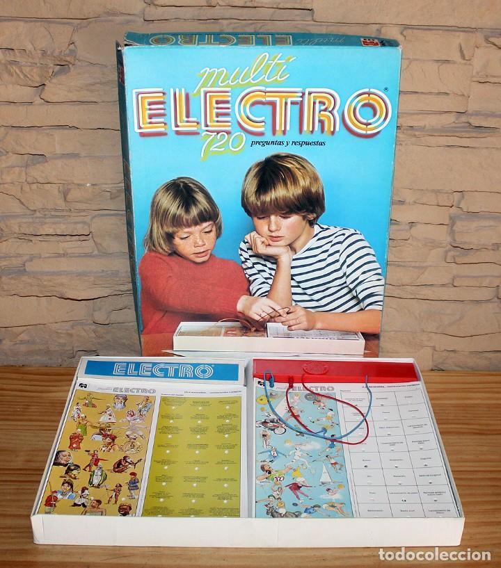 MULTI ELECTRO 720 - COMPLETO Y FUNCIONANDO - AÑO 1978 - JUMBO (Juguetes - Juegos - Educativos)