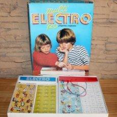 Juegos educativos: MULTI ELECTRO 720 - COMPLETO Y FUNCIONANDO - AÑO 1978 - JUMBO. Lote 213548800