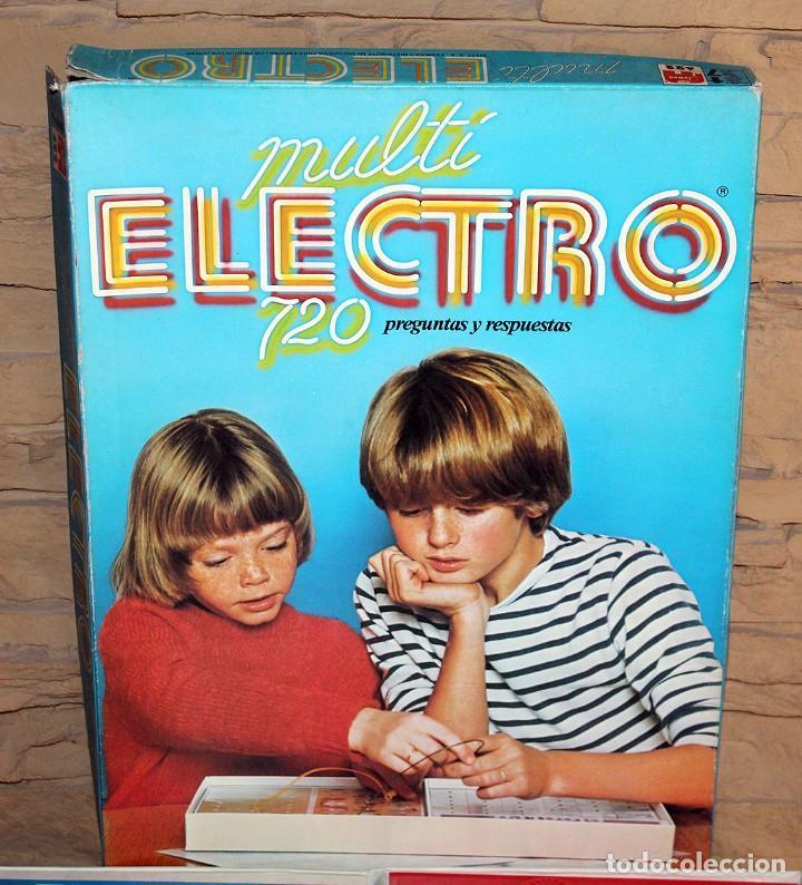 Juegos educativos: MULTI ELECTRO 720 - COMPLETO Y FUNCIONANDO - AÑO 1978 - JUMBO - Foto 2 - 213548800
