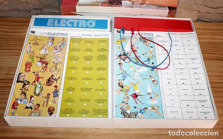 Juegos educativos: MULTI ELECTRO 720 - COMPLETO Y FUNCIONANDO - AÑO 1978 - JUMBO - Foto 3 - 213548800